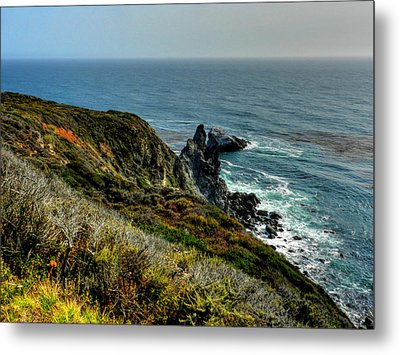 California - Big Sur 005 Metal Print by Lance Vaughn