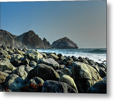 California - Big Sur 012 Metal Print by Lance Vaughn