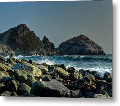 California - Big Sur 013 Metal Print by Lance Vaughn