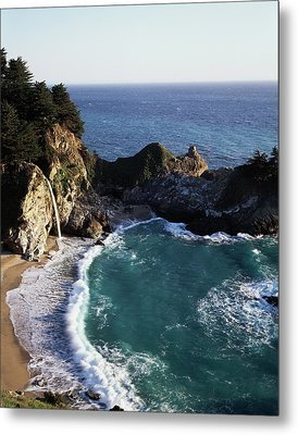 California, Big Sur Coast, Central Metal Print