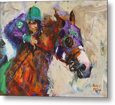 California Chrome Metal Print by Ron and Metro