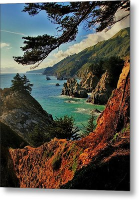 California Coastline Metal Print by Benjamin Yeager