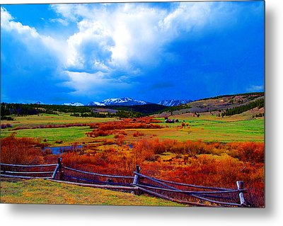 Metal Print featuring the photograph California Creek Homestead by Kevin Bone