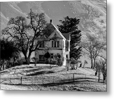 California Gothic Metal Print by Kandy Hurley