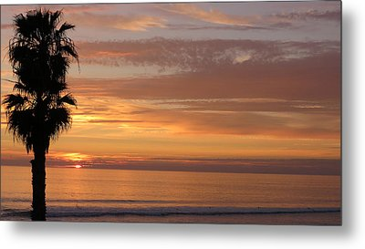 California Sunset Metal Print by Charles Ables