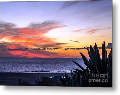 California Sunset Metal Print by Mike Ste Marie