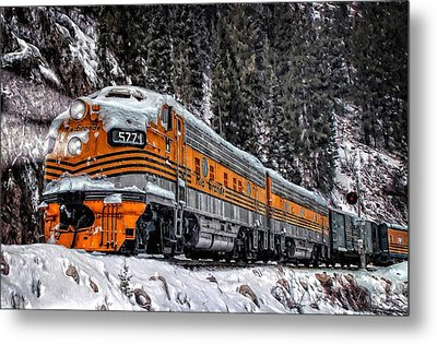 California Zephyr Metal Print by Ken Smith