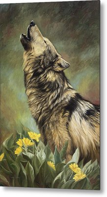 Call Of The Wild Metal Print by Lucie Bilodeau