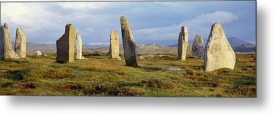 Callanish Stones, Isle Of Lewis, Outer Metal Print