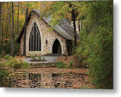 Callaway Chapel Metal Print by Mountains to the Sea Photo