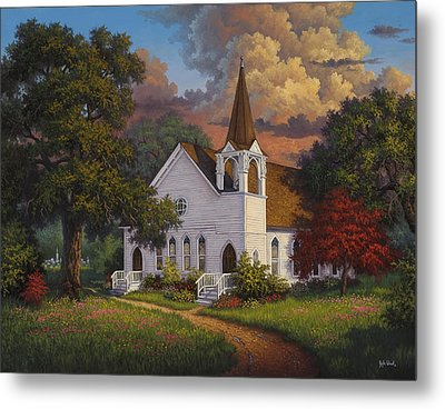 Called To Praise Metal Print