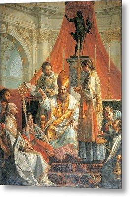 Calliani Gaetano, Sermon Of St Metal Print