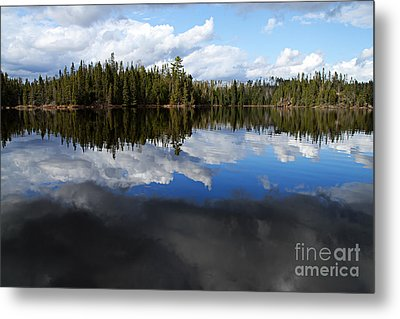 Calm Before The Storm Metal Print by Larry Ricker