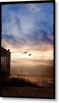 Calm Metal Print by Beverly Stapleton
