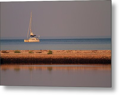 Calm Waters Metal Print by Karol Livote