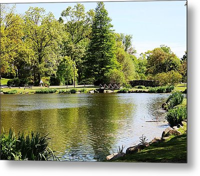 Metal Print featuring the photograph Calming  by Judy Palkimas