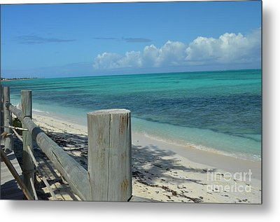 Metal Print featuring the photograph Calming Waters by Judy Wolinsky
