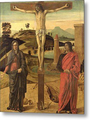 Calvary Metal Print by Giovanni Bellini