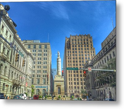 Calvert And Fayette  Metal Print