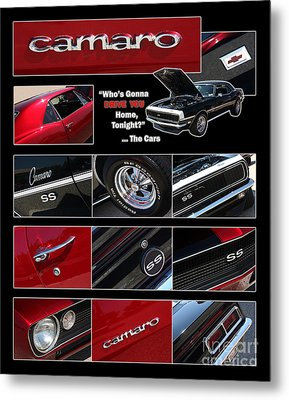 Camaro-drive - Poster Metal Print by Gary Gingrich Galleries