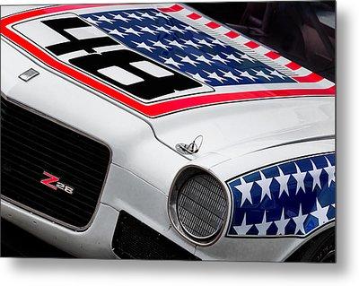 Camaro Z28 Metal Print by Bill Wakeley
