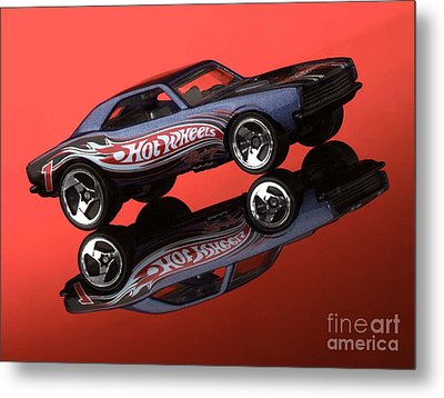 Camaro4-2 Metal Print by Gary Gingrich Galleries