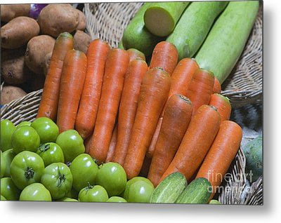 Cambodian Carrots Metal Print by Craig Lovell