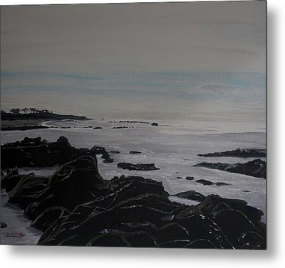 Cambria Tidal Pools Metal Print