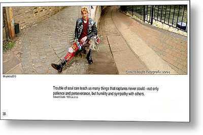 Camden Lock Path Metal Print by Mike Hoyle