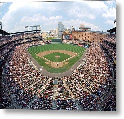 Camden Yards Baltimore Md Metal Print