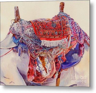 Camel Saddle Metal Print by Dorothy Boyer