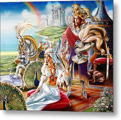 Camelot Metal Print by Adrian Chersterman