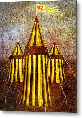 Camelot Restrained Metal Print by Bob Orsillo