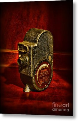 Camera - Bell And Howell Film Camera Metal Print by Paul Ward