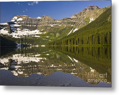 Cameron Lake Metal Print by Dee Cresswell