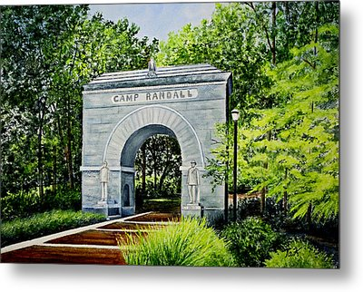 Camp Randall Metal Print by Thomas Kuchenbecker