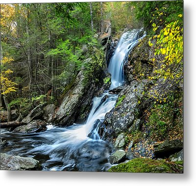 Campbell Falls - Power And Beauty Metal Print by Thomas Schoeller