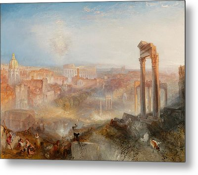 Campo Vaccino Metal Print by JMW Turner
