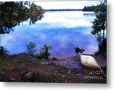 Campsite Serenity Metal Print by Thomas R Fletcher