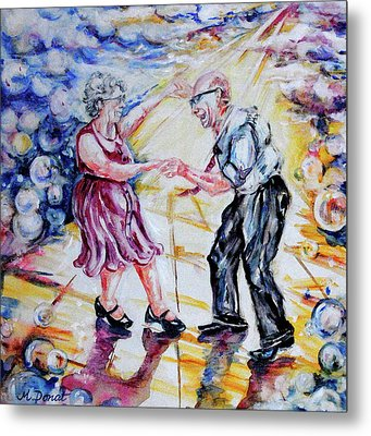 Can I Have This Dance For The Rest Of My Life Metal Print by Margaret Donat