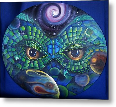 Can You See Me Now Metal Print by Sherry Strong