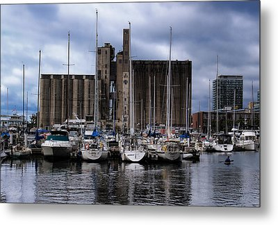 Canada Malting Silos Harbourfront Metal Print by Nicky Jameson