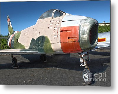 Canadair Sabre Qf-86h Metal Print by Gregory Dyer