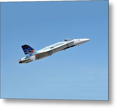 Metal Print featuring the photograph Canadian Cf18 by Jim Poulos