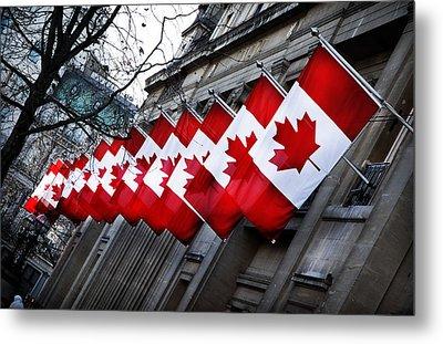 Canadian Embassy London Metal Print by Mark Rogan