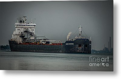 Canadian Enterprise Metal Print by Ronald Grogan