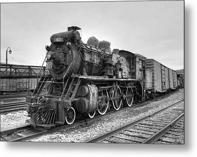 Canadian National No. 47 Metal Print by Gene Walls