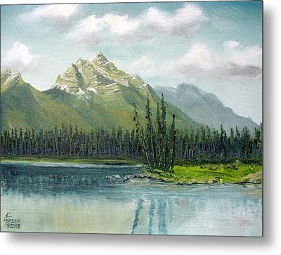 Canadian Rocky Mountains Metal Print
