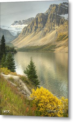 Metal Print featuring the photograph Canadian Scene by Wanda Krack