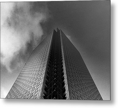 Canary Wharf London 3 Metal Print